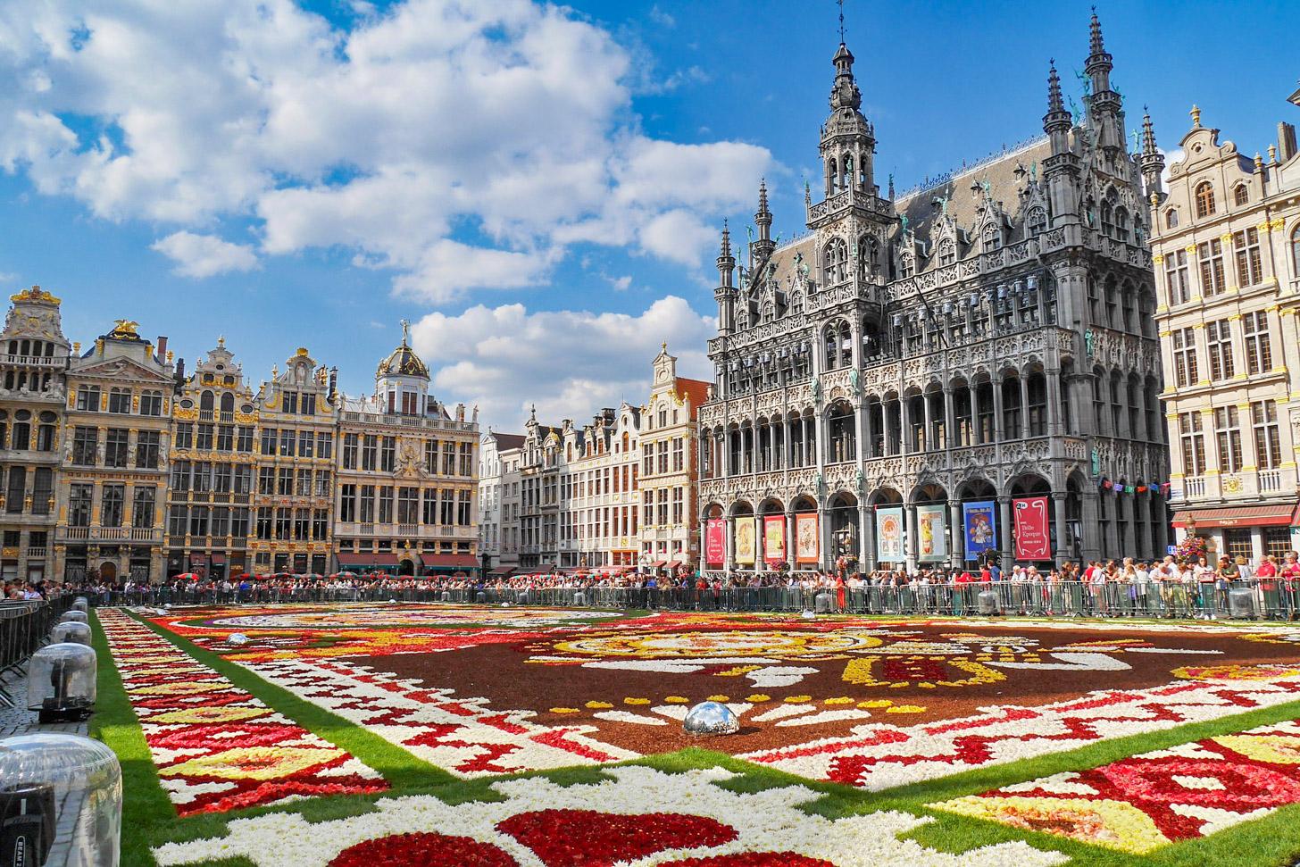 Brussels Bloemen Tapijt