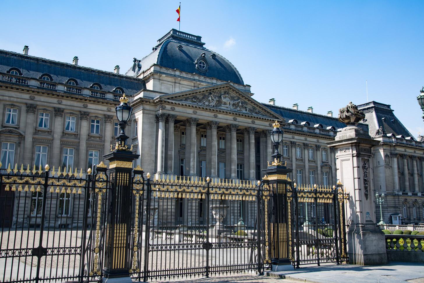 Het Koninklijk Paleis van Brussel