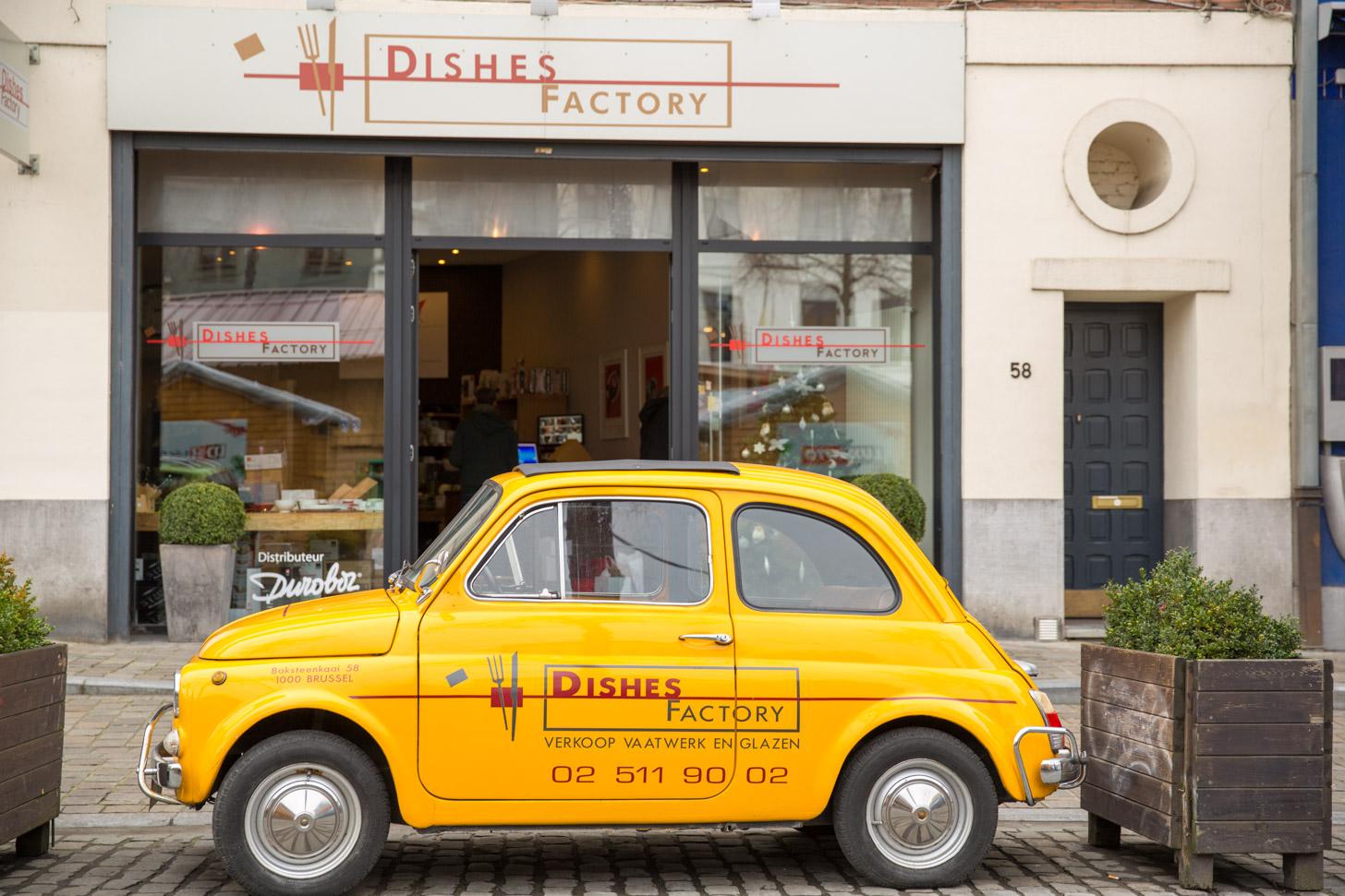Met de auto naar Brussel